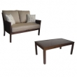 allen   roth Loveseat & Table