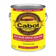 CABOT SOLID COLOR ACRYLIC DECK STAIN**SOLD**